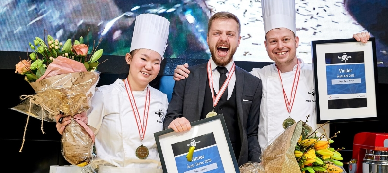 See the Winners of the Danish Chef and Waiter of the Year